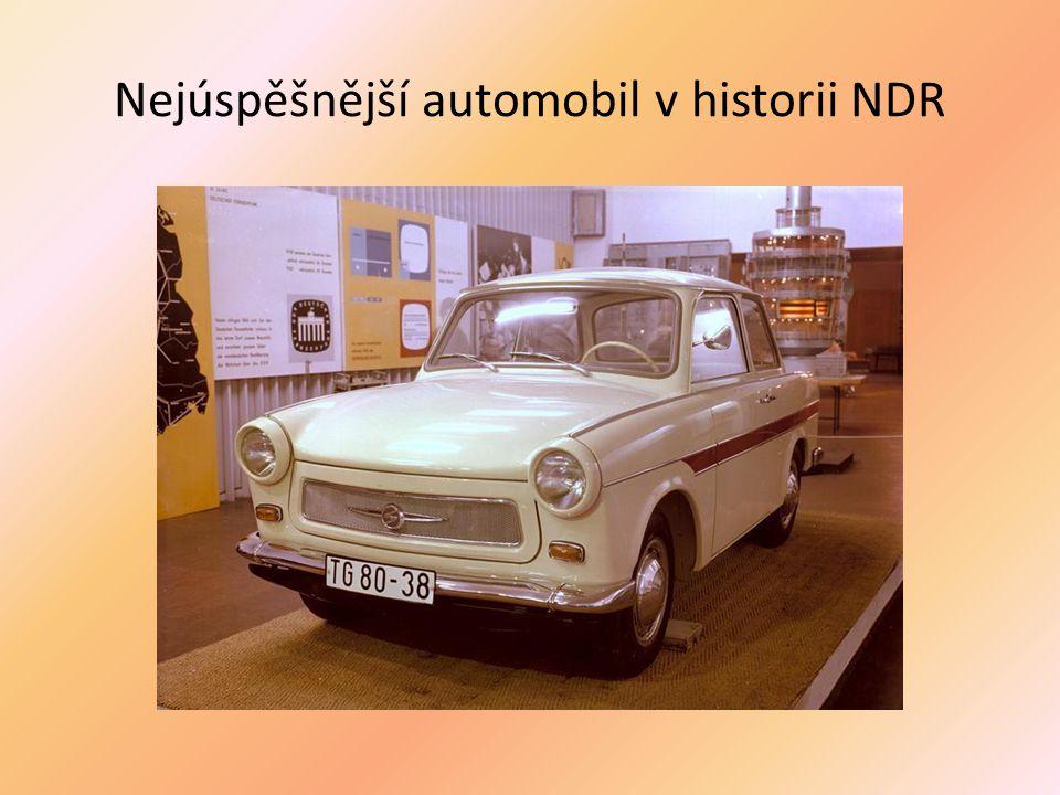 Nejúspěšnější automobil v historii NDR