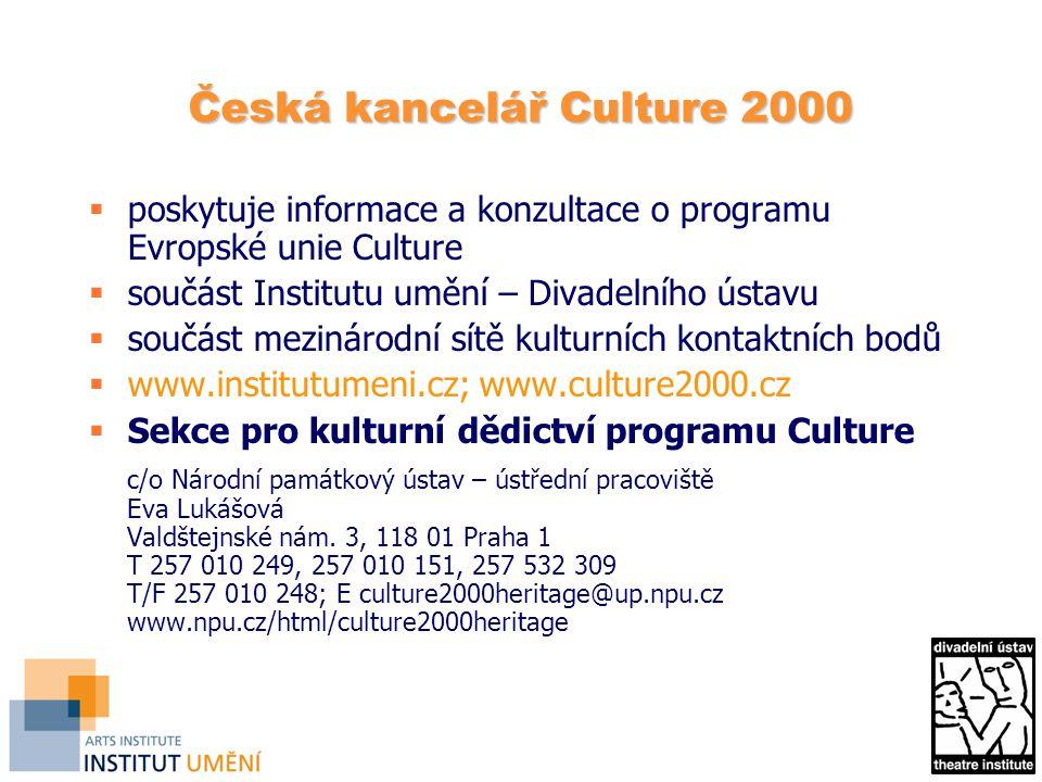 Česká kancelář Culture 2000