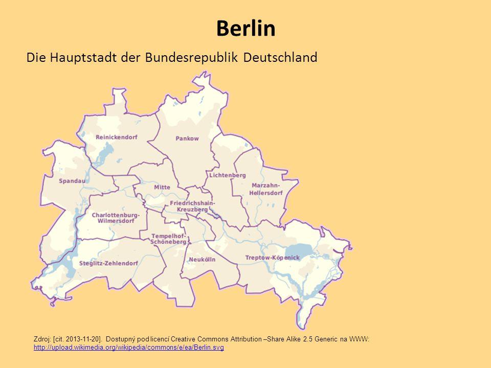 Berlin Die Hauptstadt der Bundesrepublik Deutschland