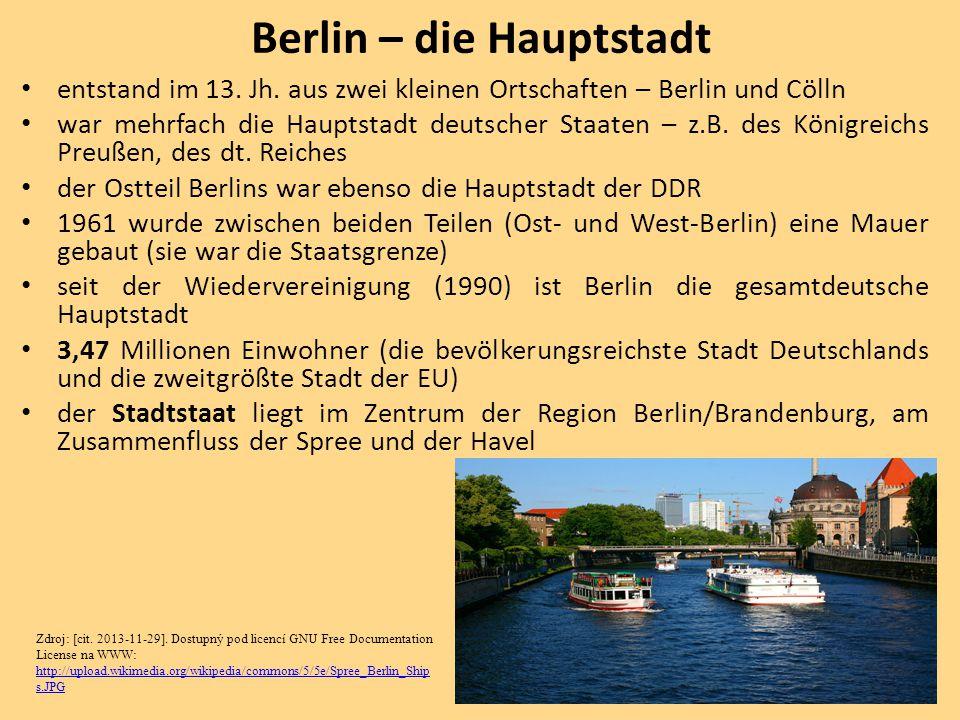 Berlin – die Hauptstadt