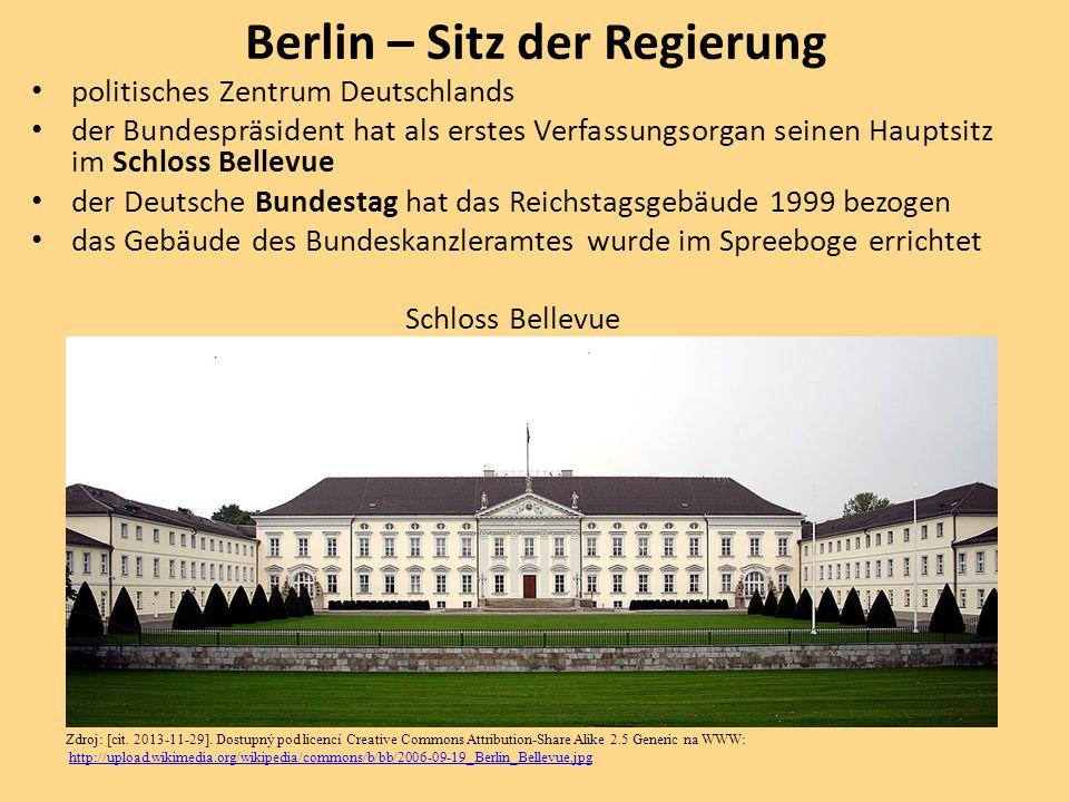 Berlin – Sitz der Regierung