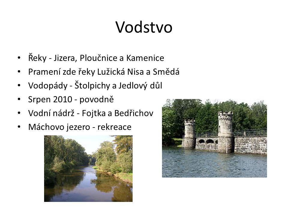 Vodstvo Řeky - Jizera, Ploučnice a Kamenice