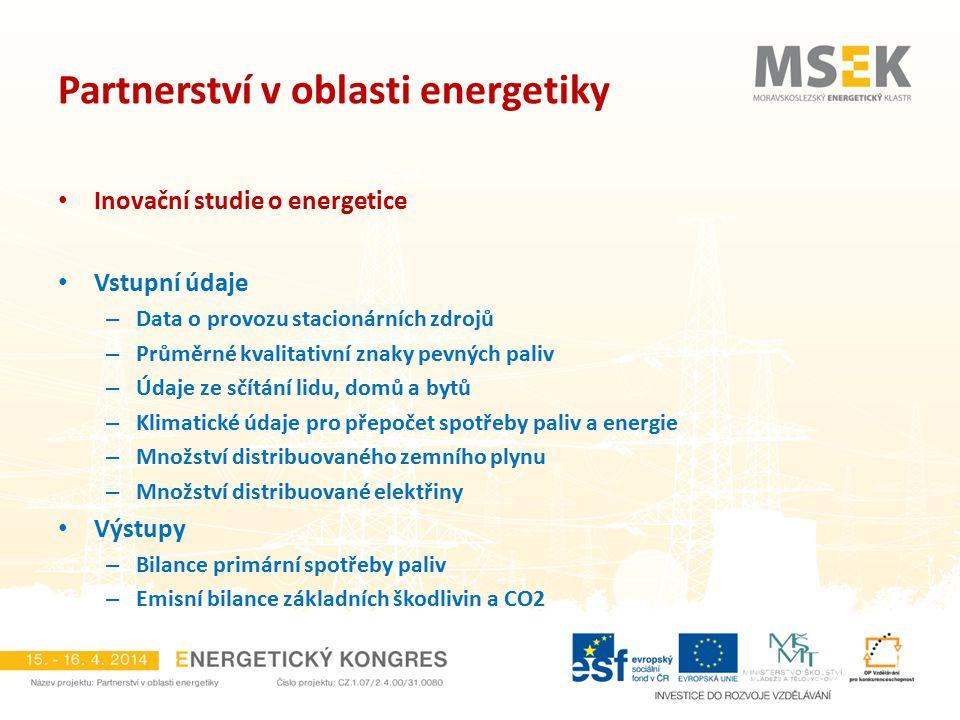 Partnerství v oblasti energetiky