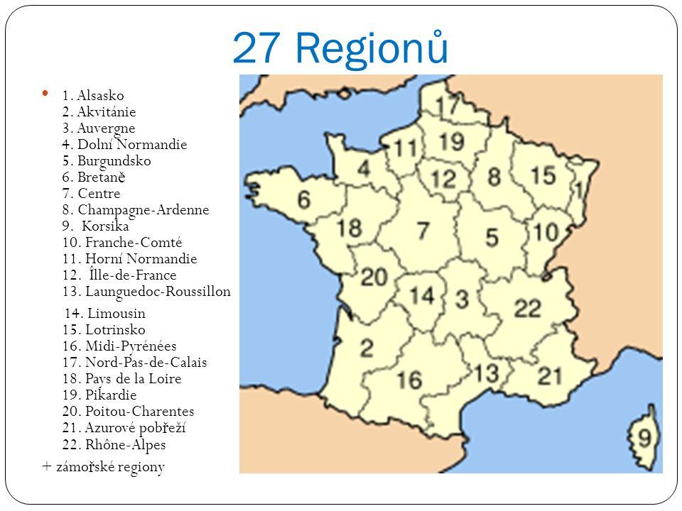 27 Regionů
