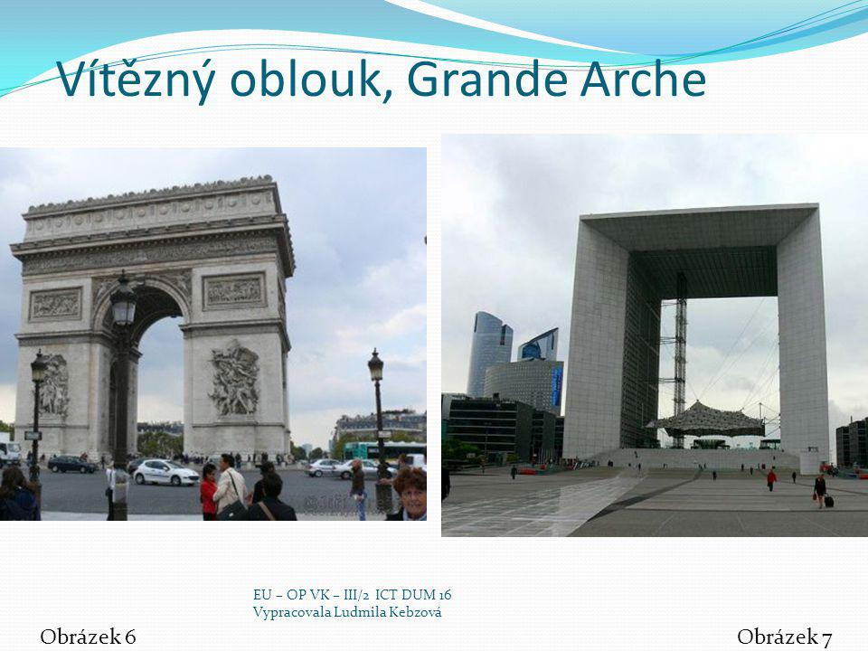 Vítězný oblouk, Grande Arche
