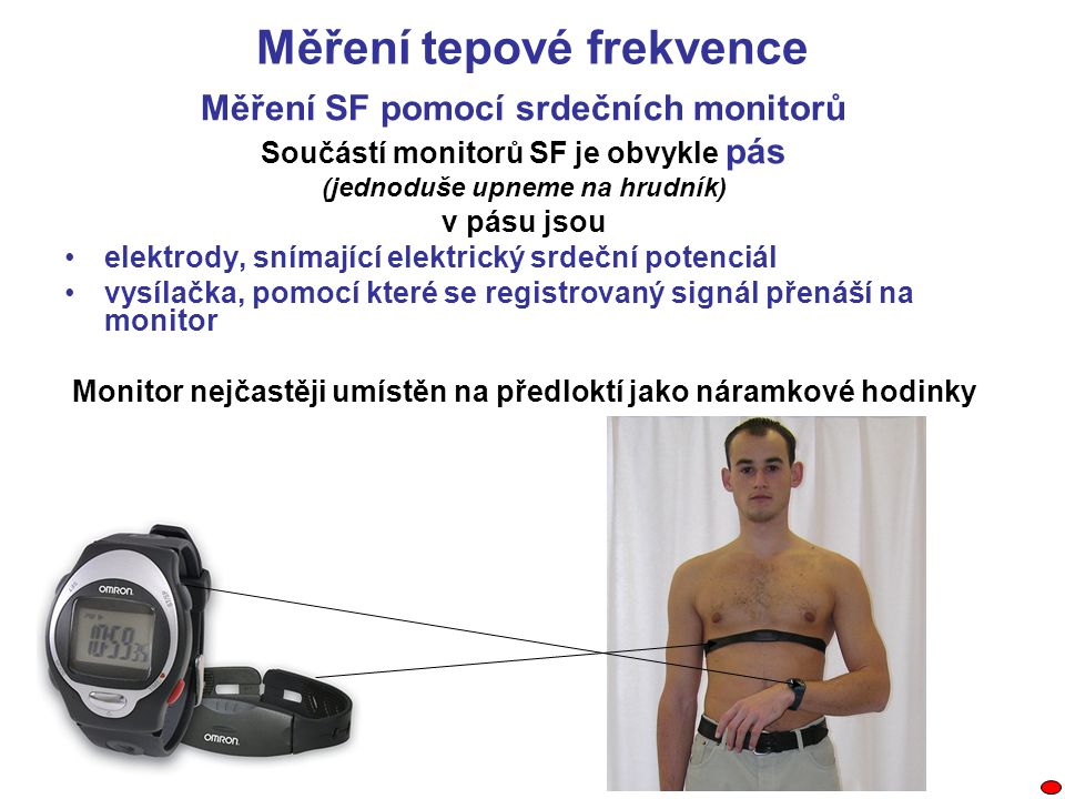 Měření tepové frekvence