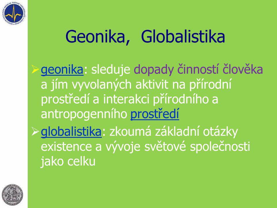 Geonika, Globalistika