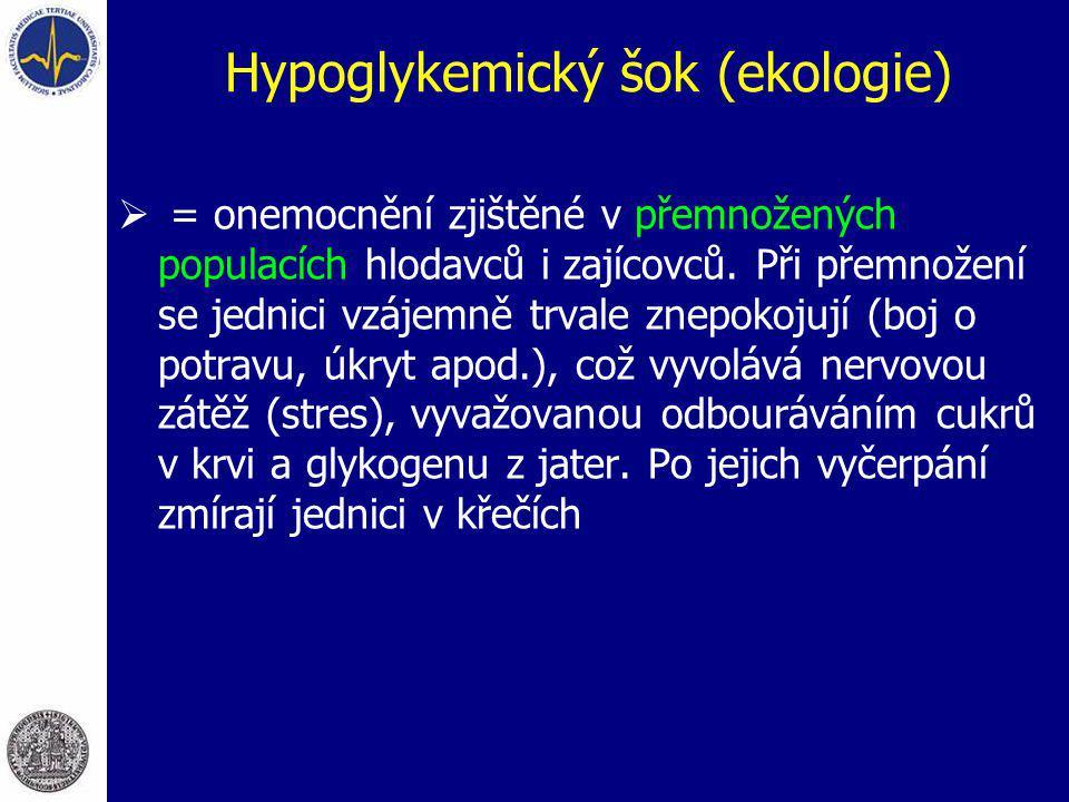 Hypoglykemický šok (ekologie)