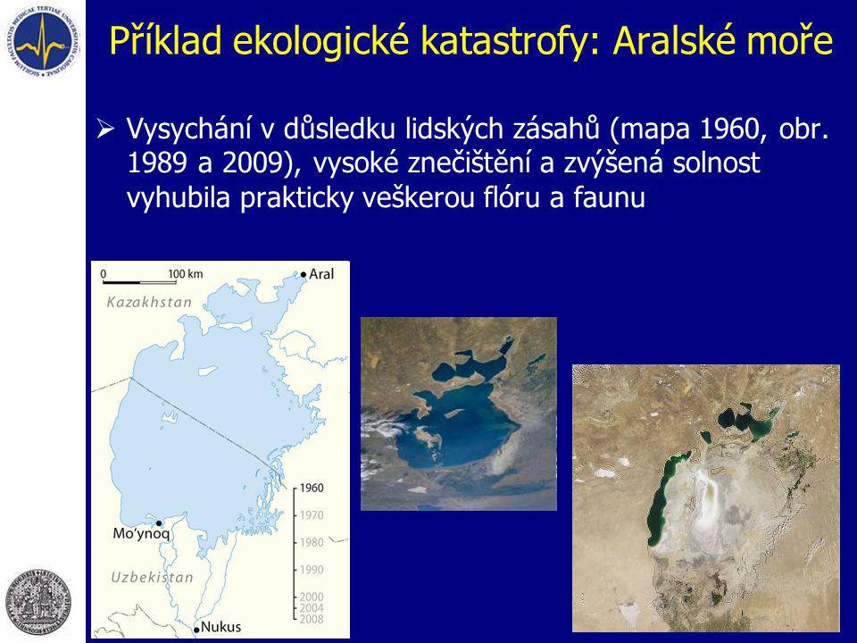 Příklad ekologické katastrofy: Aralské moře