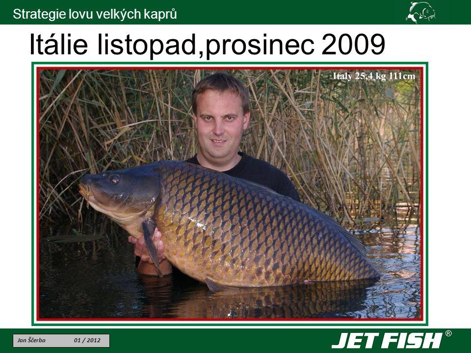 Itálie listopad,prosinec 2009
