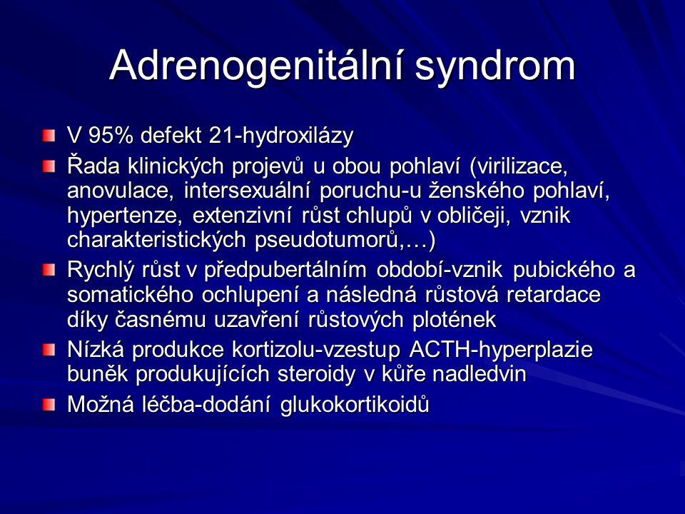 Adrenogenitální syndrom