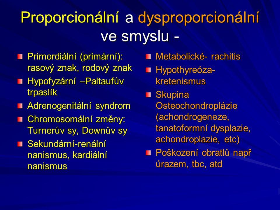 Proporcionální a dysproporcionální ve smyslu -
