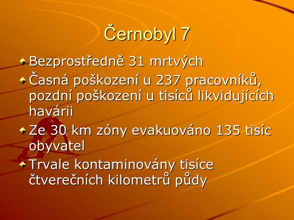 Černobyl 7 Bezprostředně 31 mrtvých