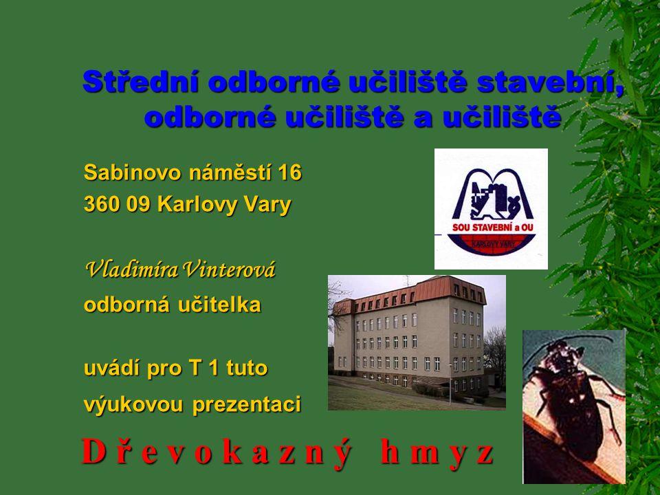 Střední odborné učiliště stavební, odborné učiliště a učiliště