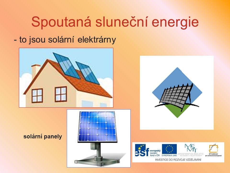 Spoutaná sluneční energie