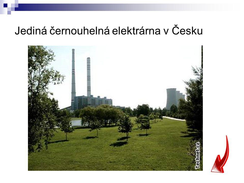 Jediná černouhelná elektrárna v Česku