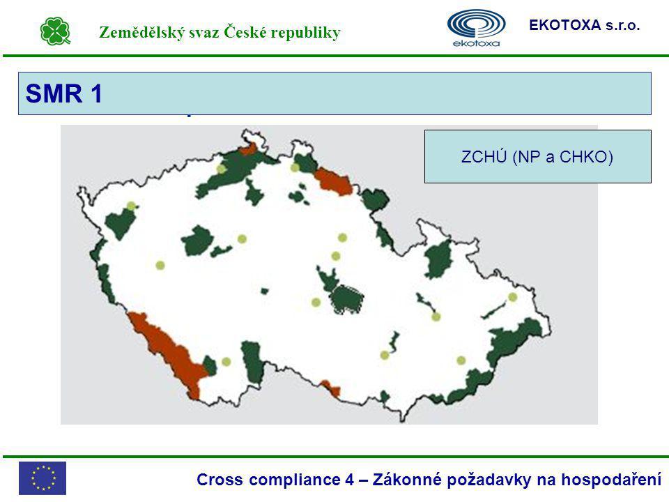 SMR 1 SMR 1 – Mapa NP a CHKO ZCHÚ (NP a CHKO)