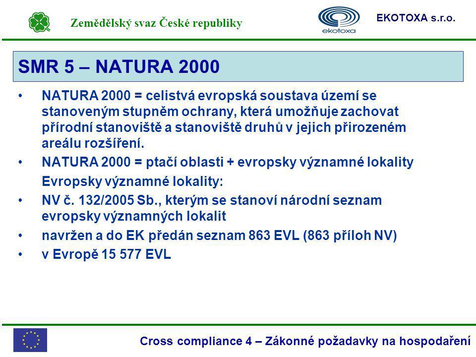 SMR 5 – NATURA 2000