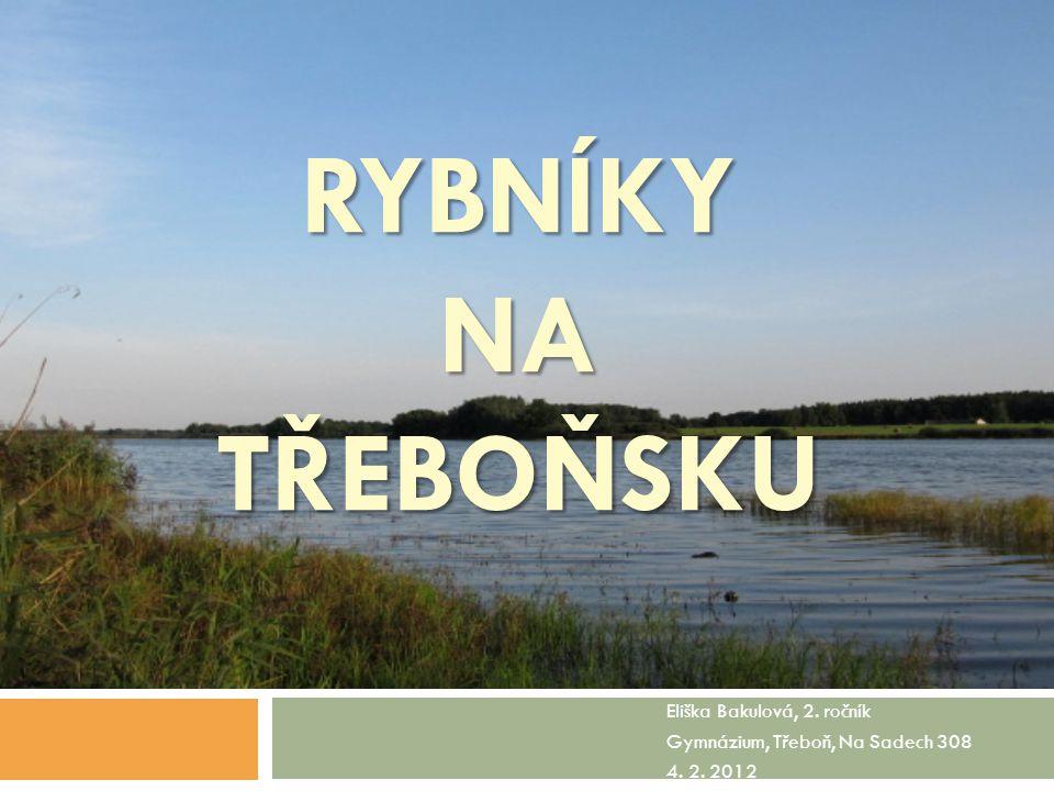 Eliška Bakulová, 2. ročník Gymnázium, Třeboň, Na Sadech 308 4. 2. 2012