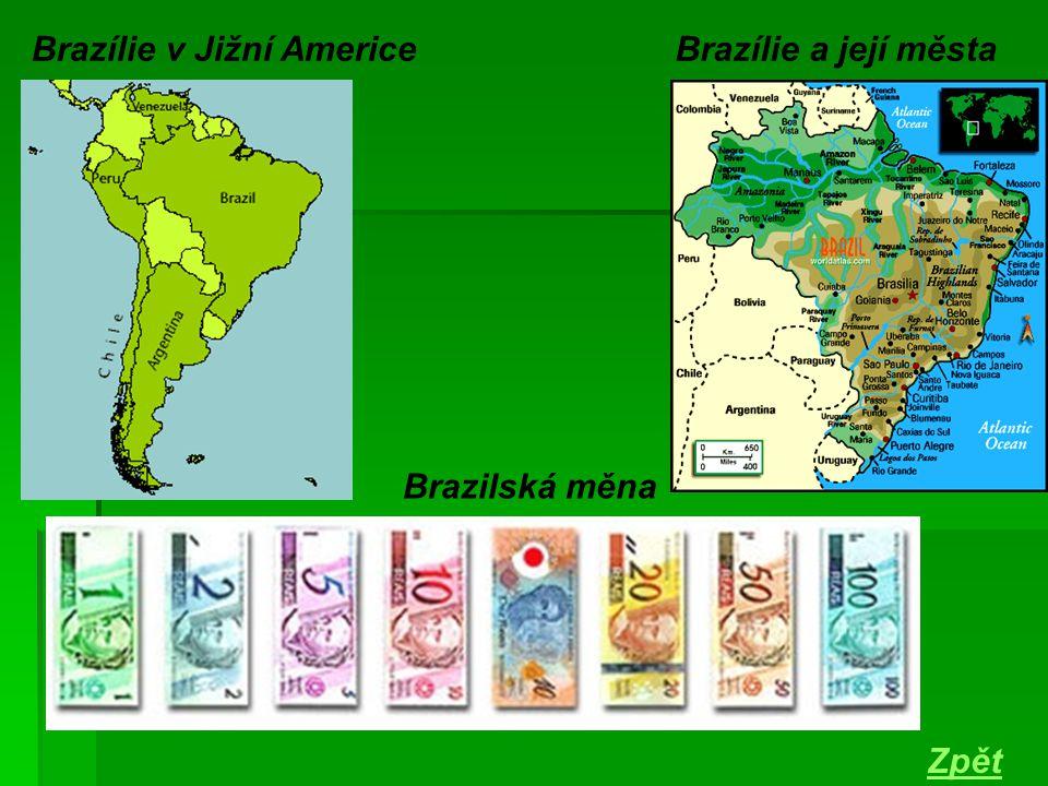 Brazílie v Jižní Americe