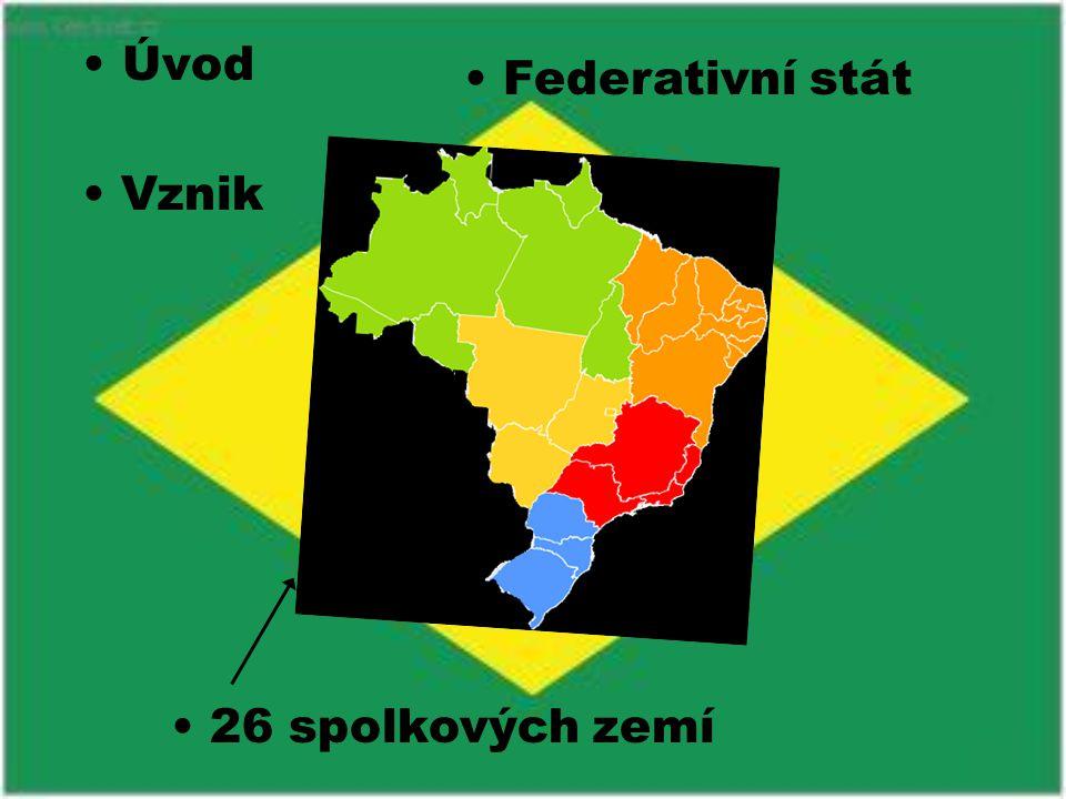 Úvod Federativní stát Vznik 26 spolkových zemí