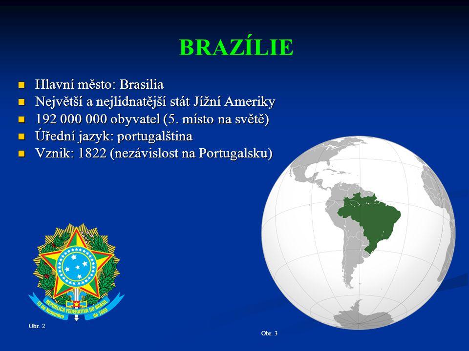 BRAZÍLIE Hlavní město: Brasilia