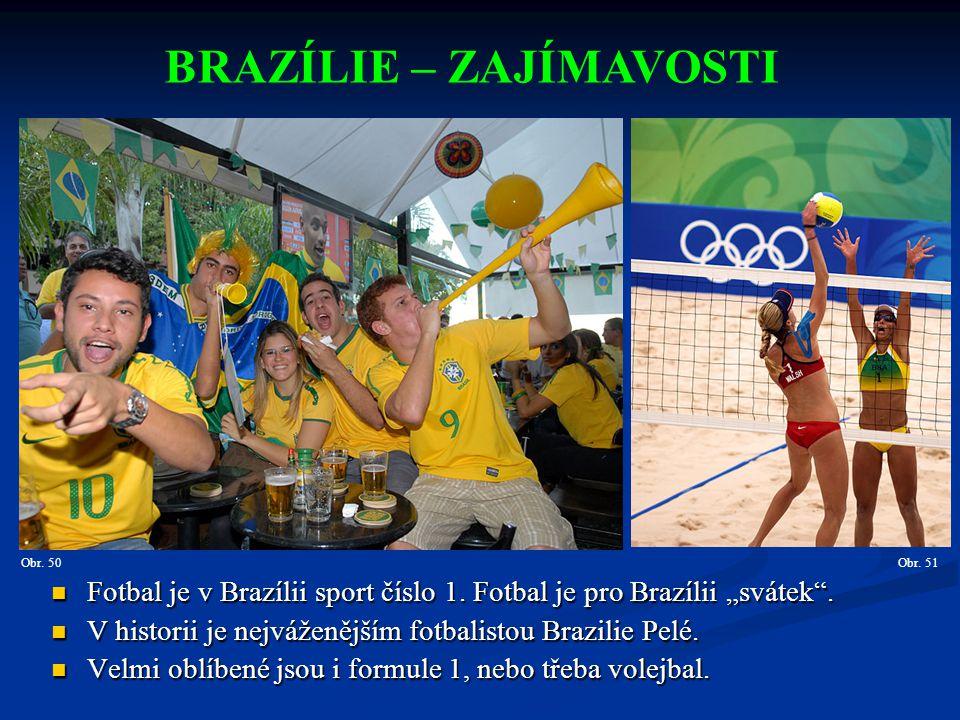 BRAZÍLIE – ZAJÍMAVOSTI
