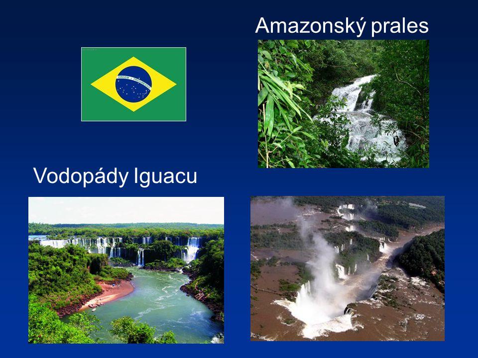 Amazonský prales Vodopády Iguacu