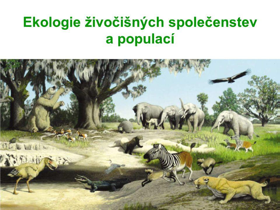 Ekologie živočišných společenstev a populací