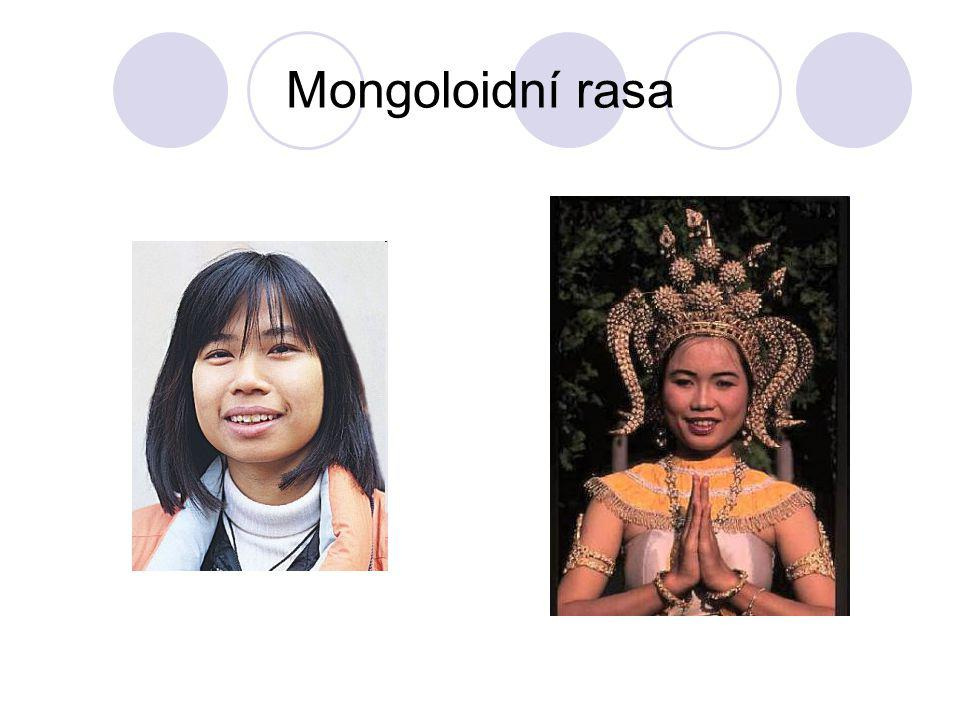 Mongoloidní rasa