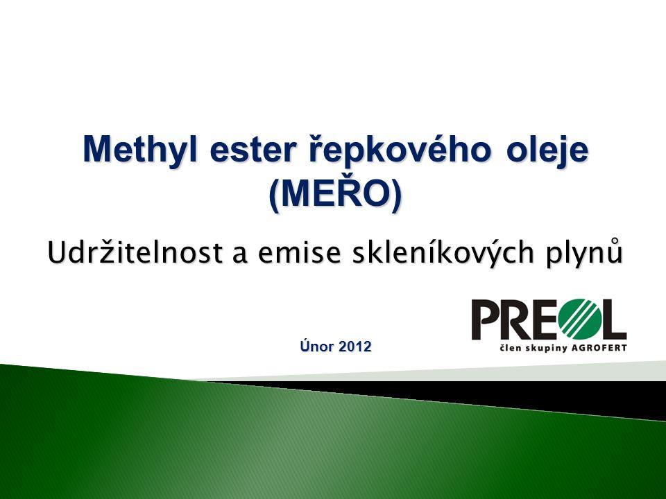 Methyl ester řepkového oleje (MEŘO)