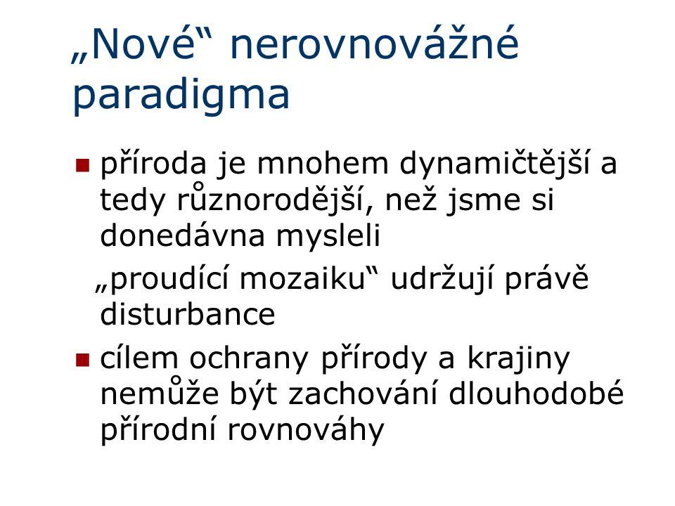 """""""Nové nerovnovážné paradigma"""