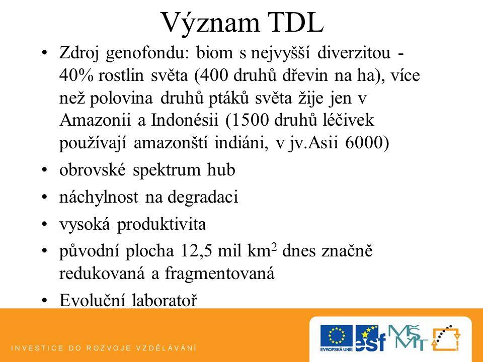 Význam TDL