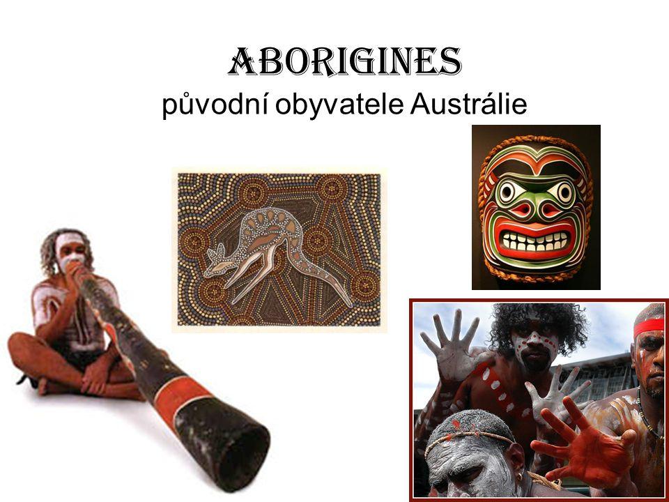 Aborigines původní obyvatele Austrálie