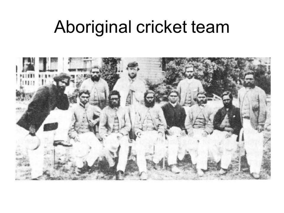 Aboriginal cricket team