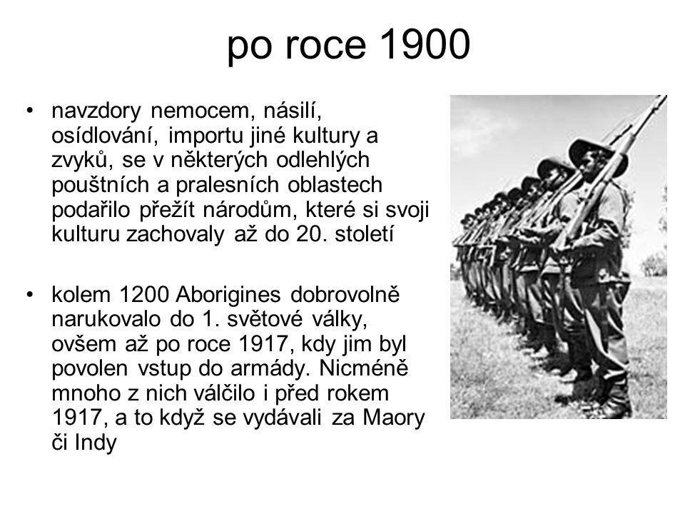 po roce 1900