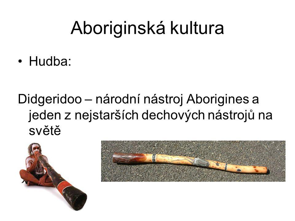 Aboriginská kultura Hudba: