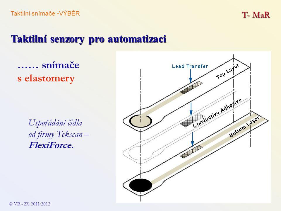 Taktilní senzory pro automatizaci