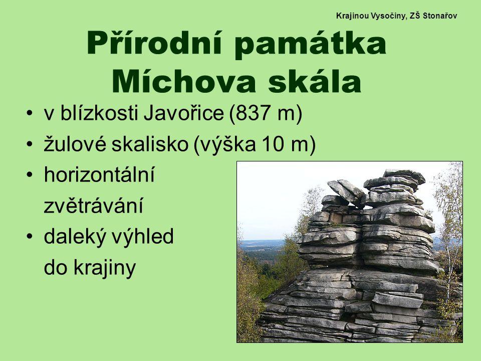 Přírodní památka Míchova skála