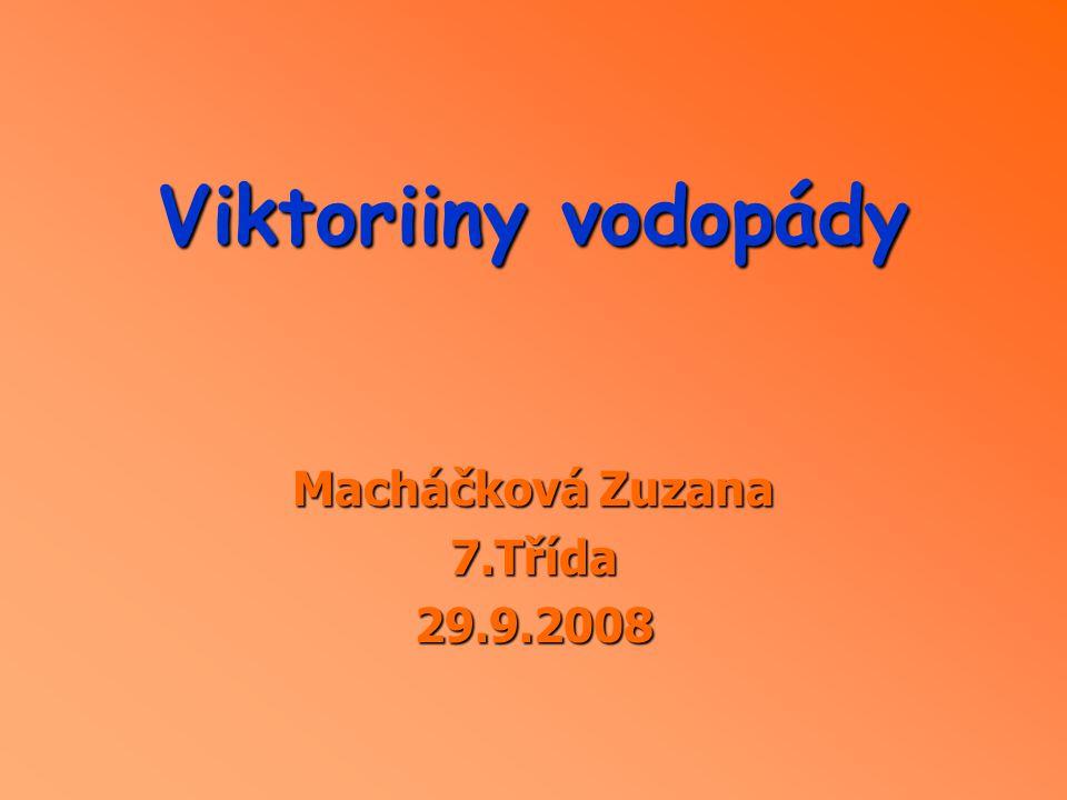 Macháčková Zuzana 7.Třída 29.9.2008