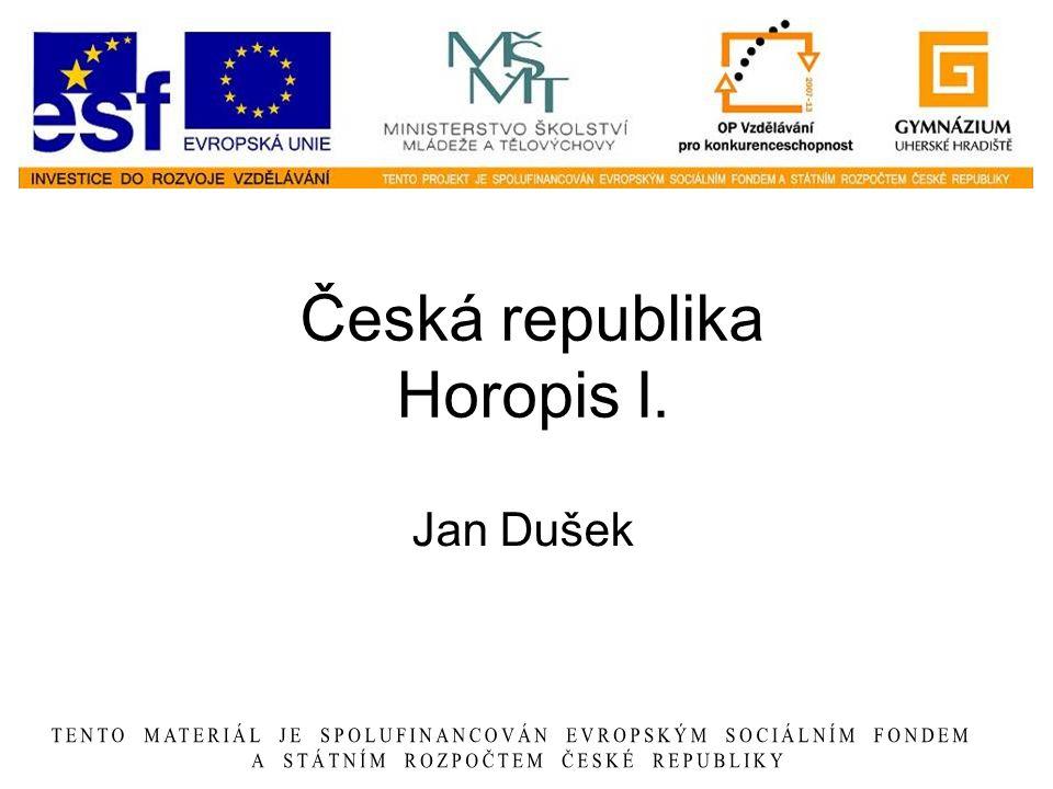 Česká republika Horopis I.