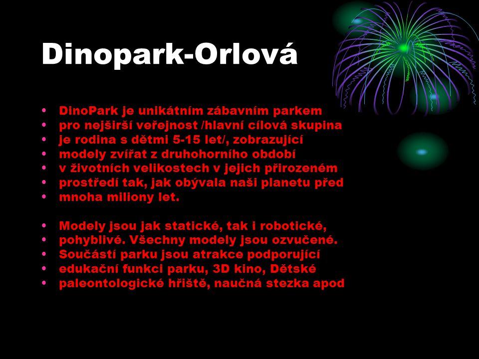 Dinopark-Orlová DinoPark je unikátním zábavním parkem