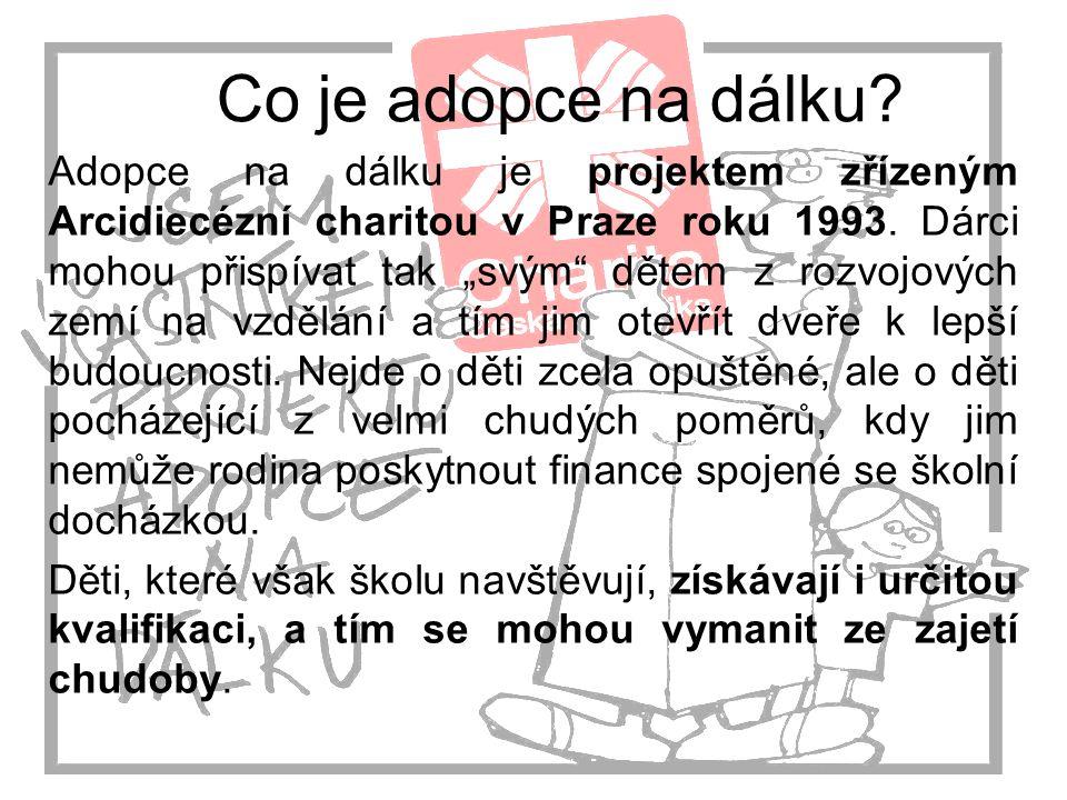 Co je adopce na dálku