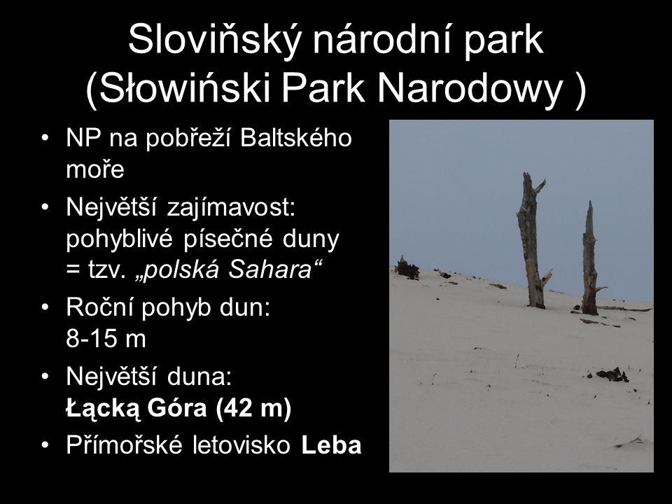 Sloviňský národní park (Słowiński Park Narodowy )