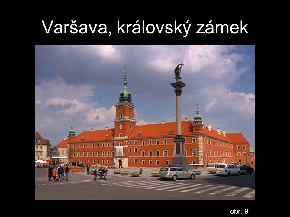 Varšava, královský zámek
