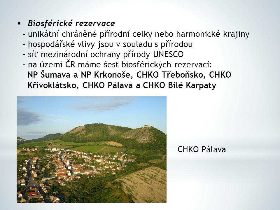 Biosférické rezervace