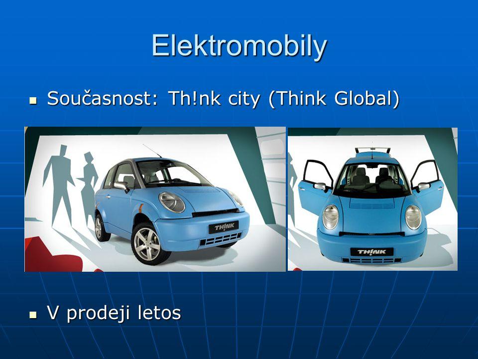 Elektromobily Současnost: Th!nk city (Think Global) V prodeji letos