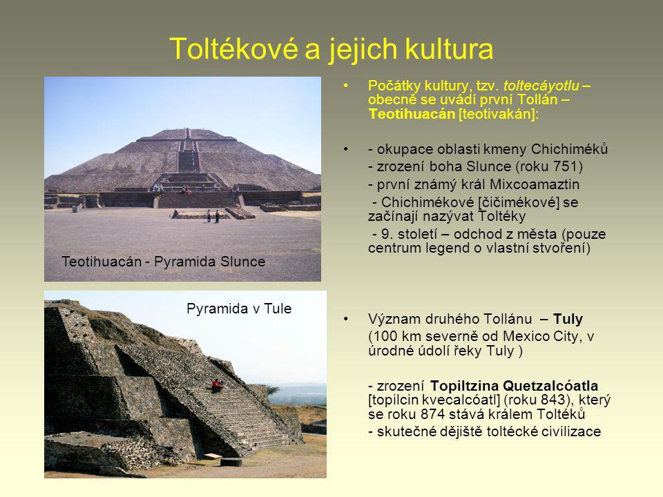 Toltékové a jejich kultura