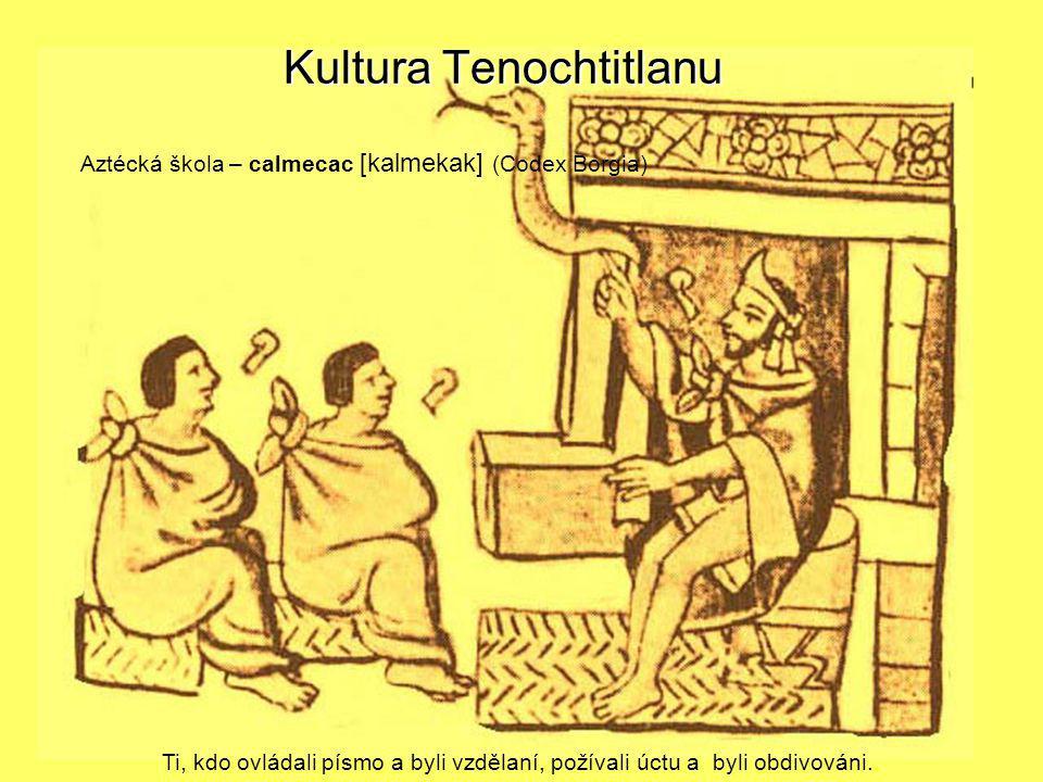 Kultura Tenochtitlanu