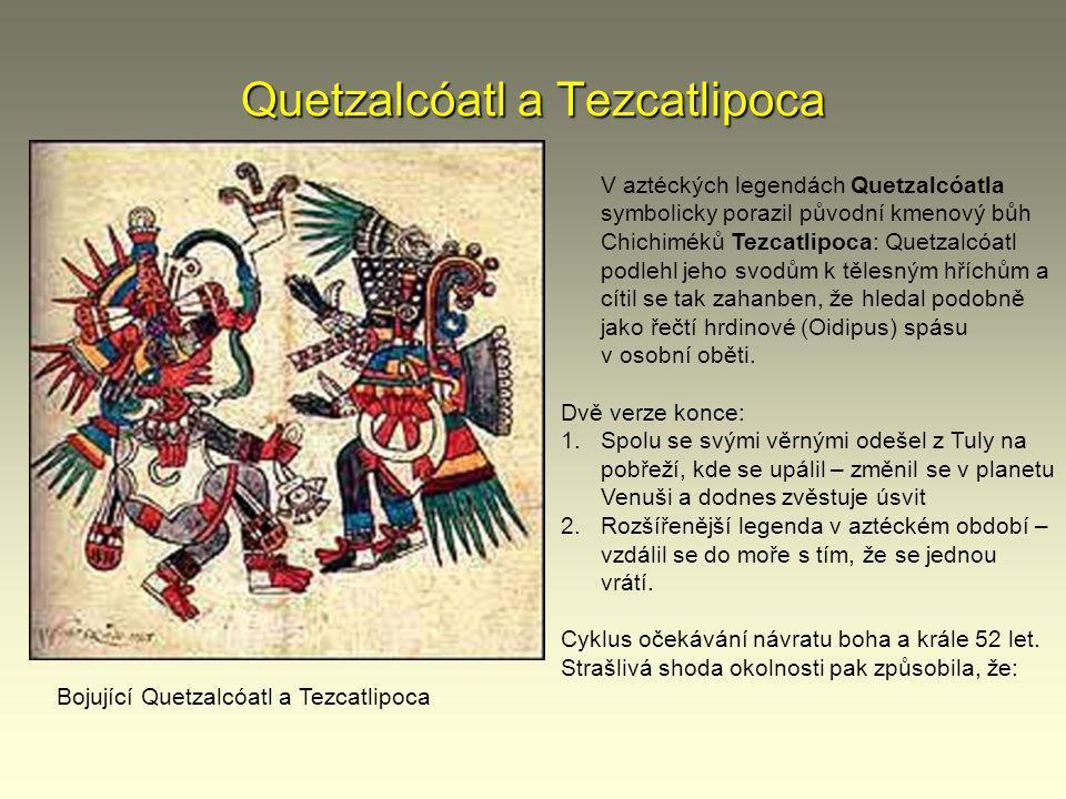 Quetzalcóatl a Tezcatlipoca